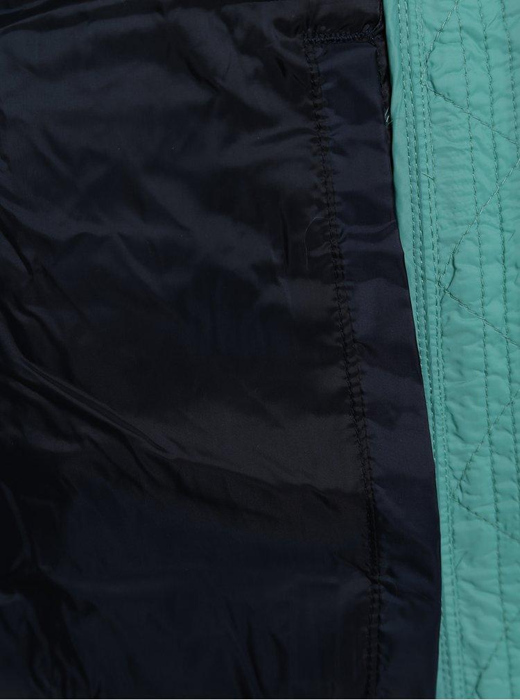 Zelená holčičí prošívaná vesta Tom Joule