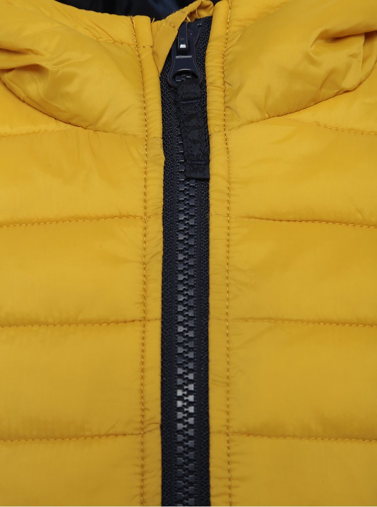 Žlutá dětská prošívaná bunda Tom Joule