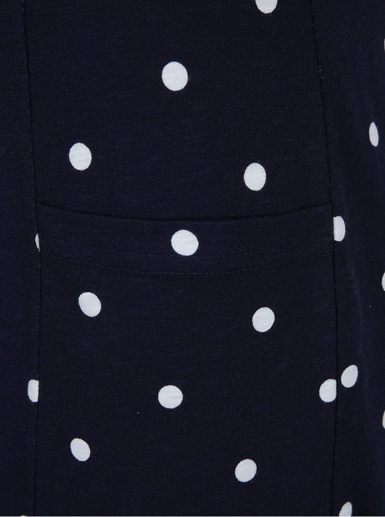 Rochie midi bleumarin cu buline Tom Joule