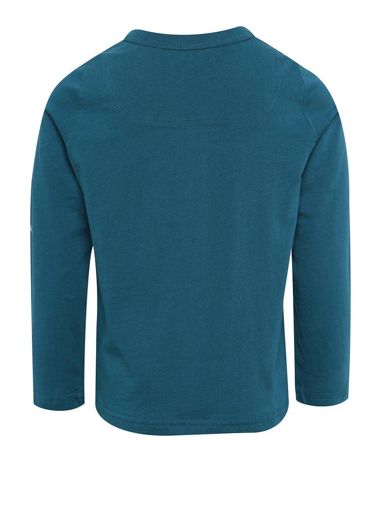 Tmavě modré klučičí triko s potiskem Tom Joule