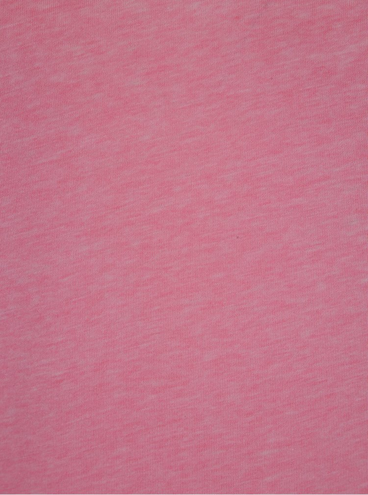 Růžové žíhané tričko ONLY Chocker Truly
