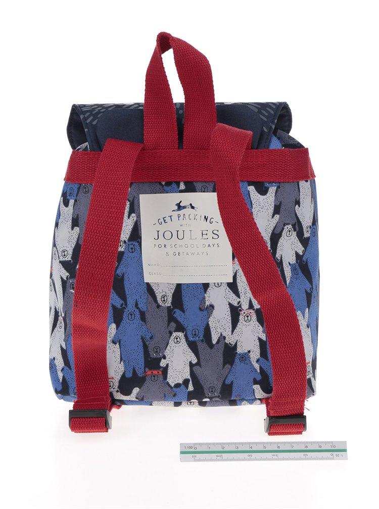 Rucsac albastru in forma de urs pentru copii  Tom Joule