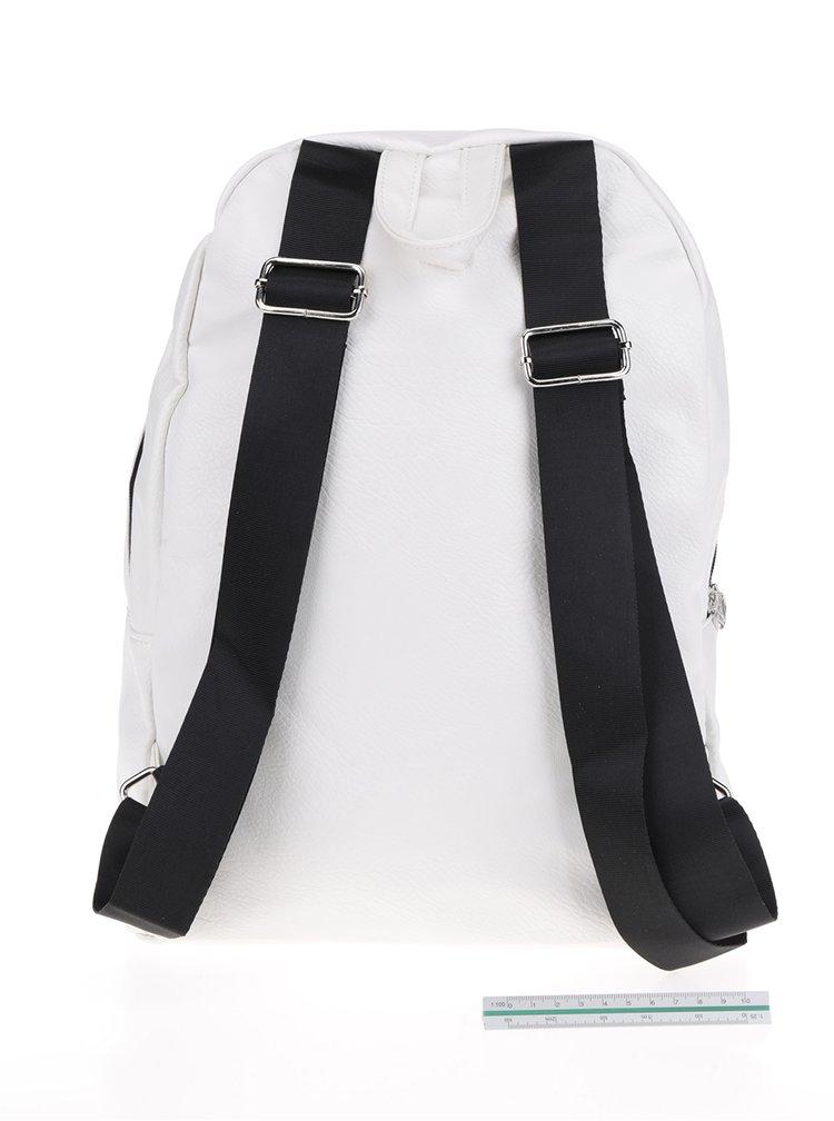 Rucsac alb fildeș cu print TALLY WEiJL