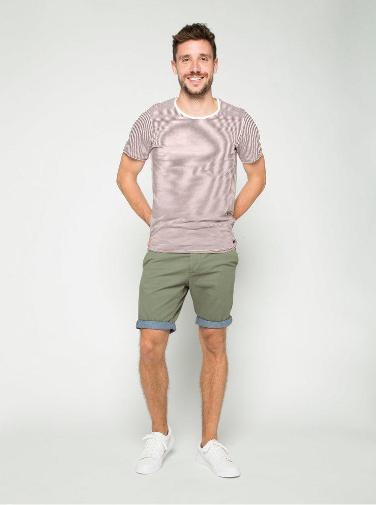 Pantaloni scurți chino kaki Jack & Jones Peek