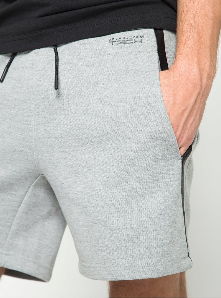 Pantaloni scurți gri deschis Jack & Jones Rub Sweat