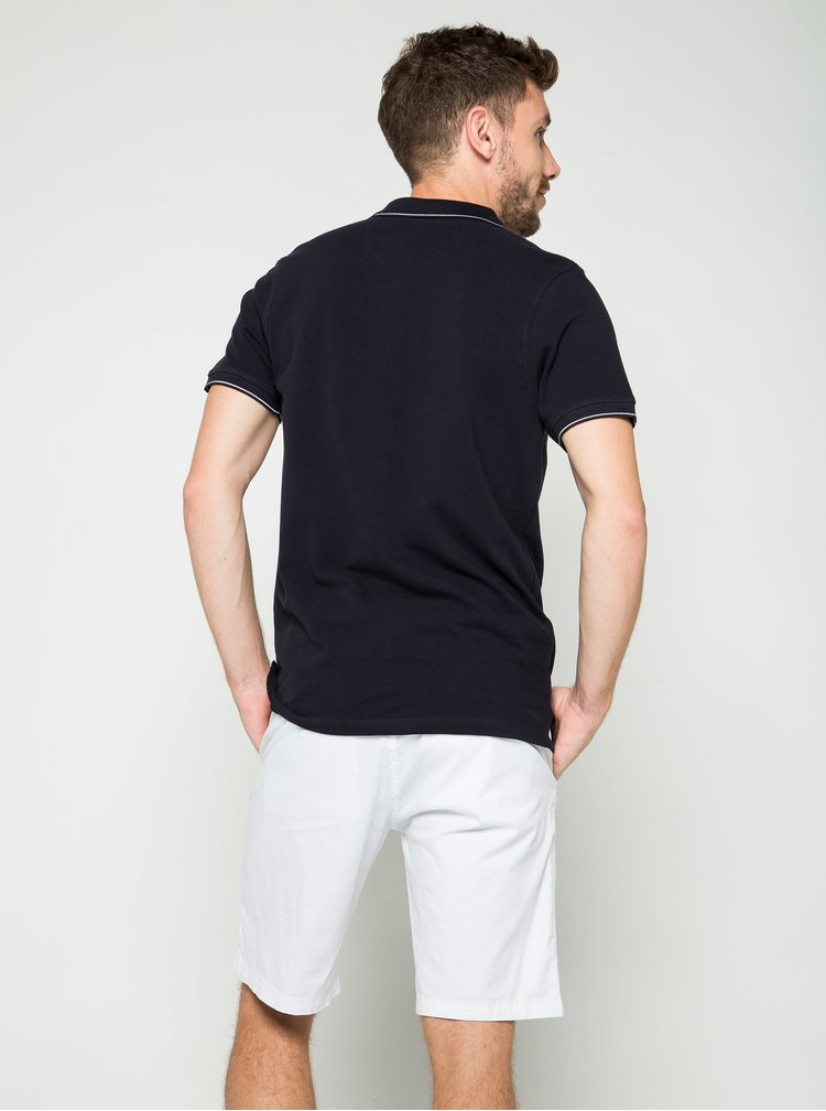 Tricou negru polo Burton Menswear London