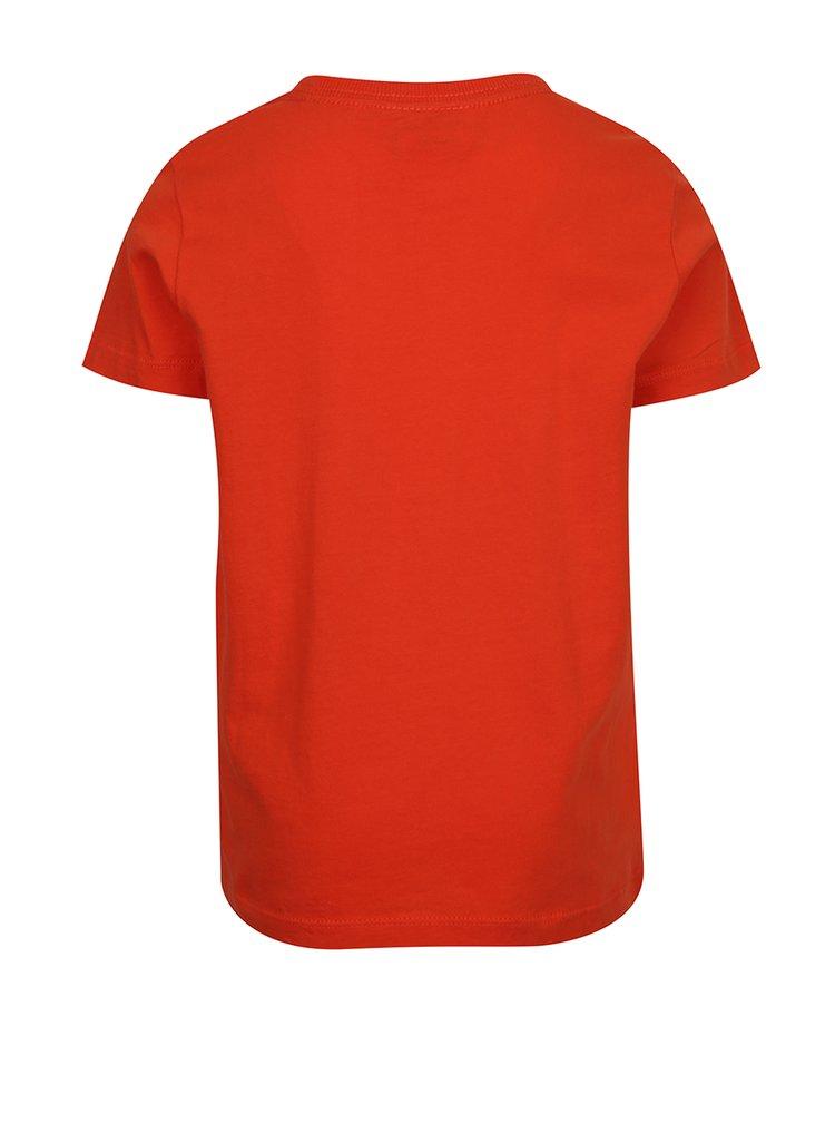 Oranžové klučičí triko s krátkým rukávem Lego Wear Teo