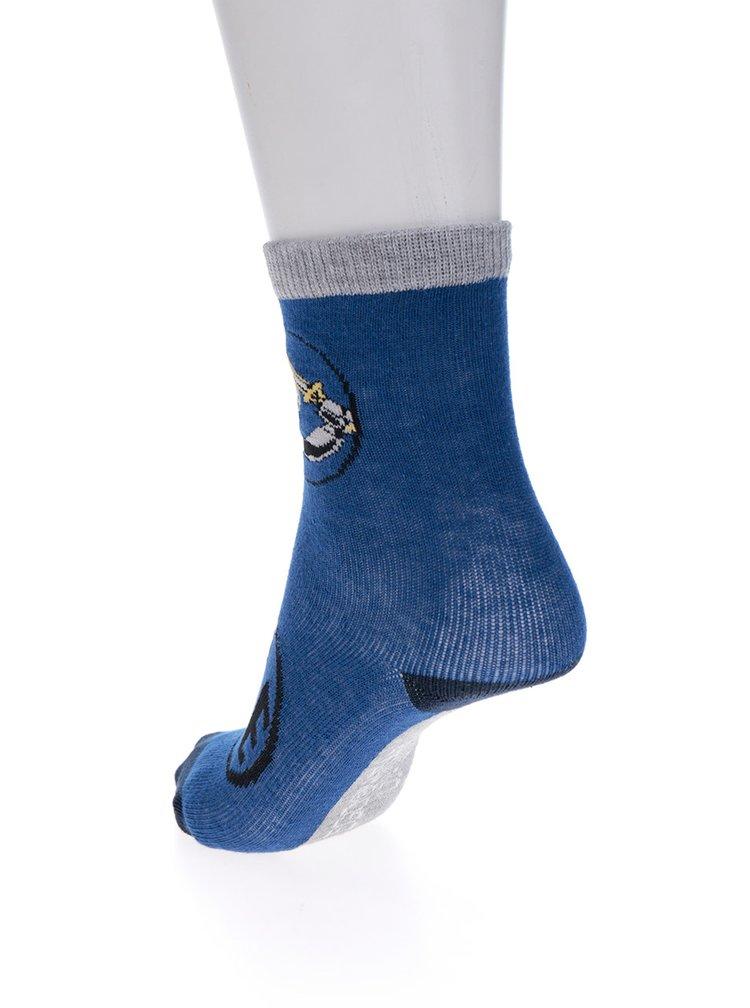 Súprava troch párov chlapčenských ponožiek v modrej farbe Lego Wear Ayan