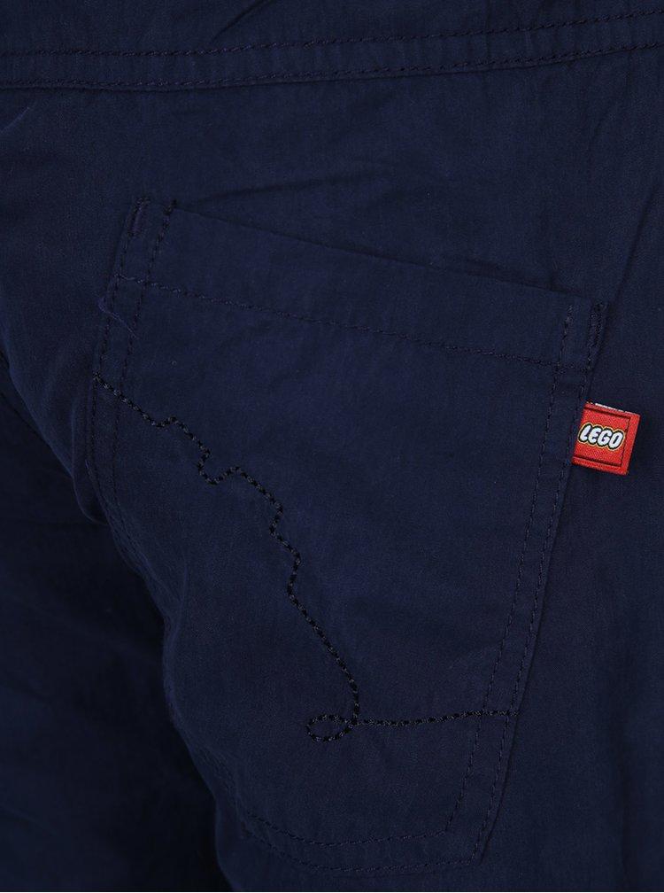 Modré klučičí kalhoty Lego Wear Build
