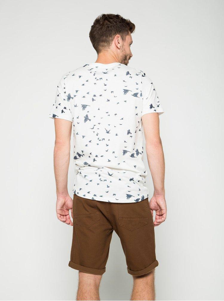 Pantaloni scurti maro Burton Menswear London din denim
