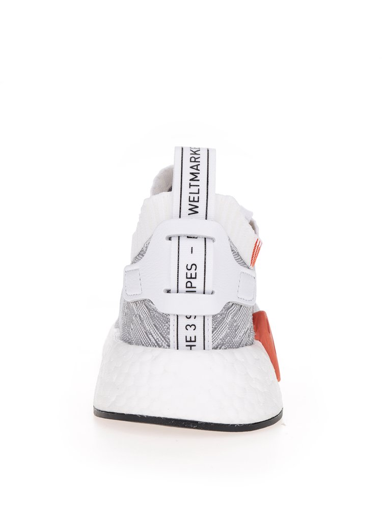 Pantofi sport gri cu alb pentru barbati adidas Originals NMD