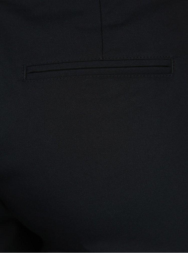 Pantaloni negri chino cu curea VERO MODA Roos