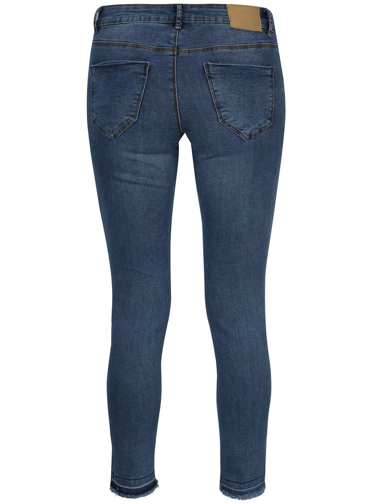 Blugi albastri slim fit - VERO MODA Five