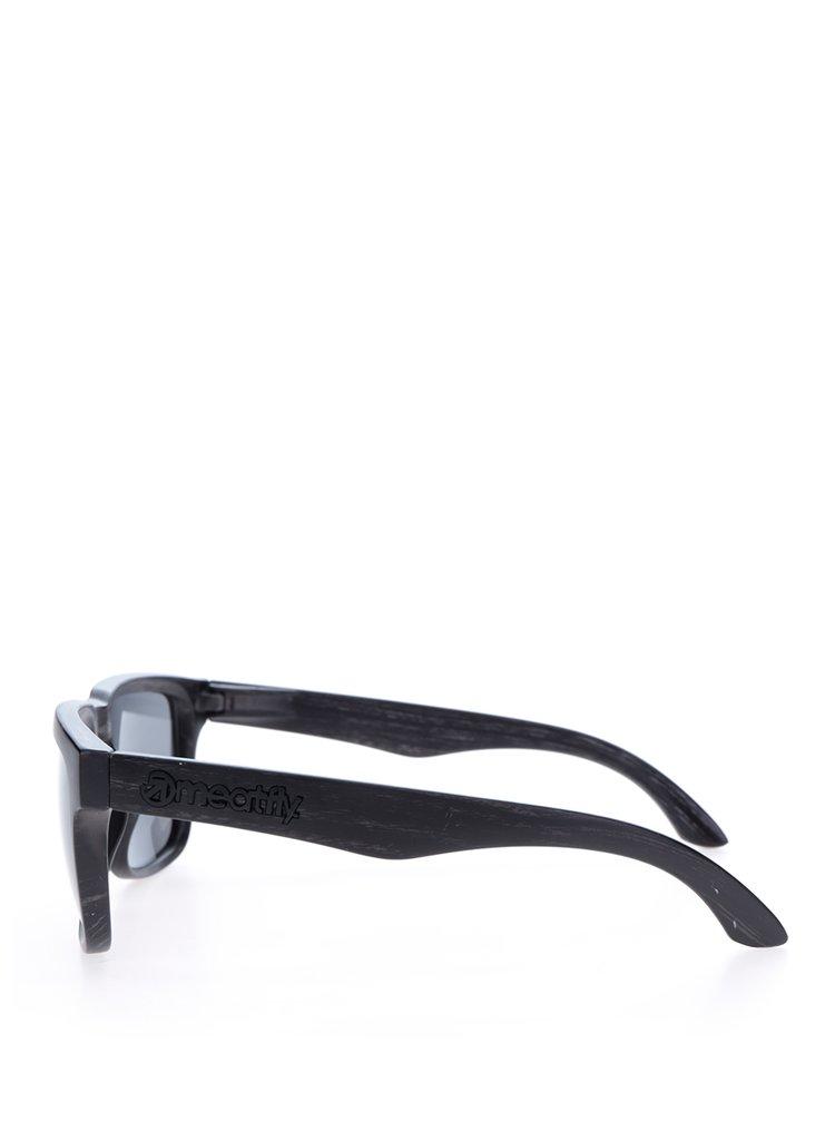 Černé pánské sluneční brýle Meatfly
