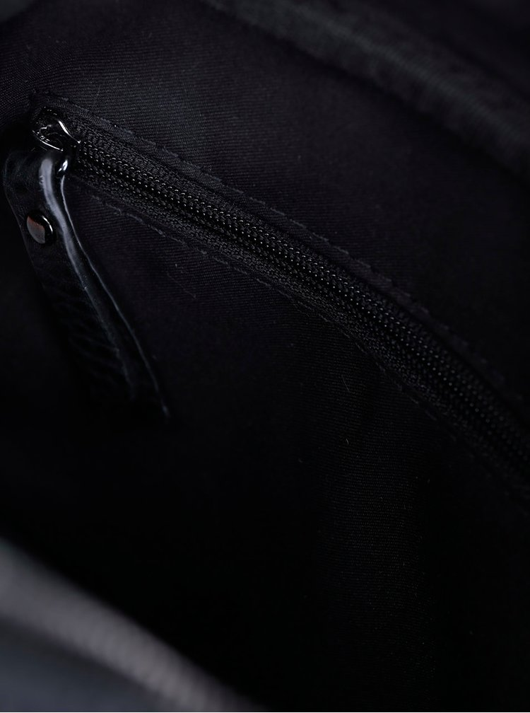 Geantă crossbody neagră - Superdry Spot Delwen