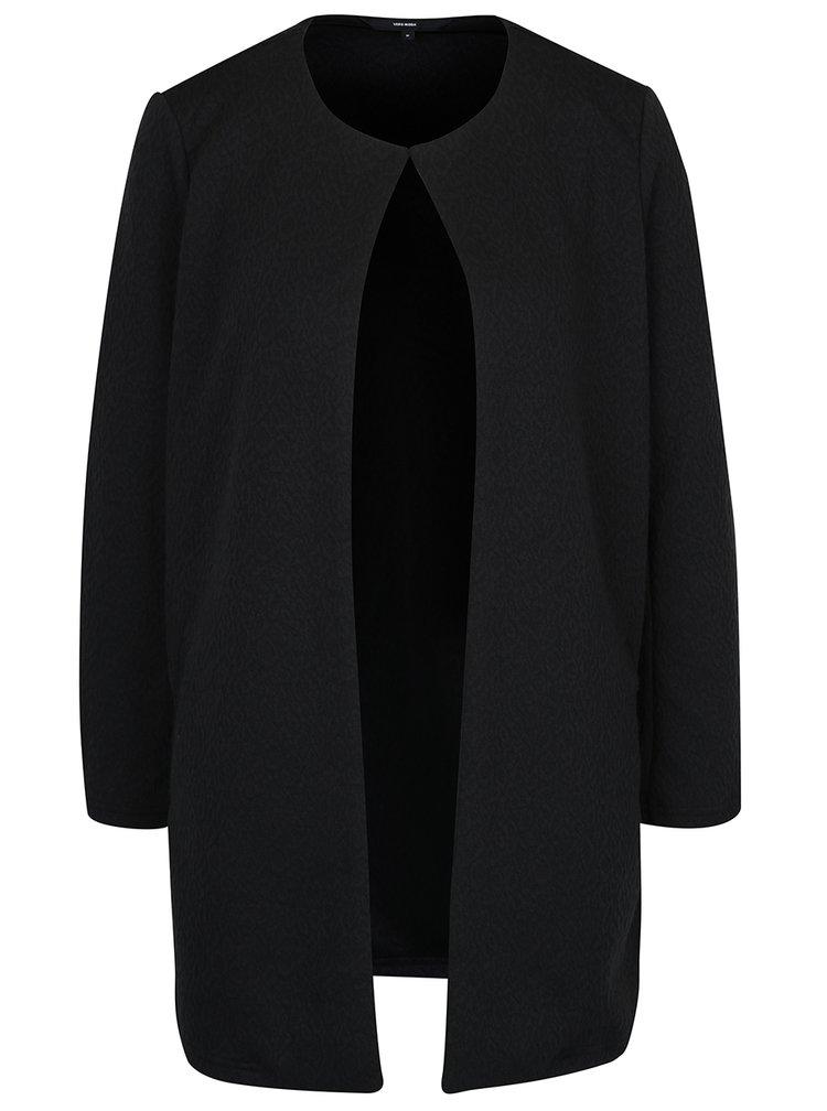 Jachetă neagră fără nasturi VERO MODA Stella