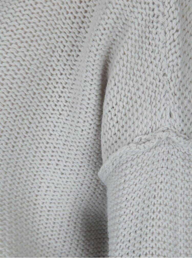 Pulover gri cu aspect transparent  Noisy May Verona