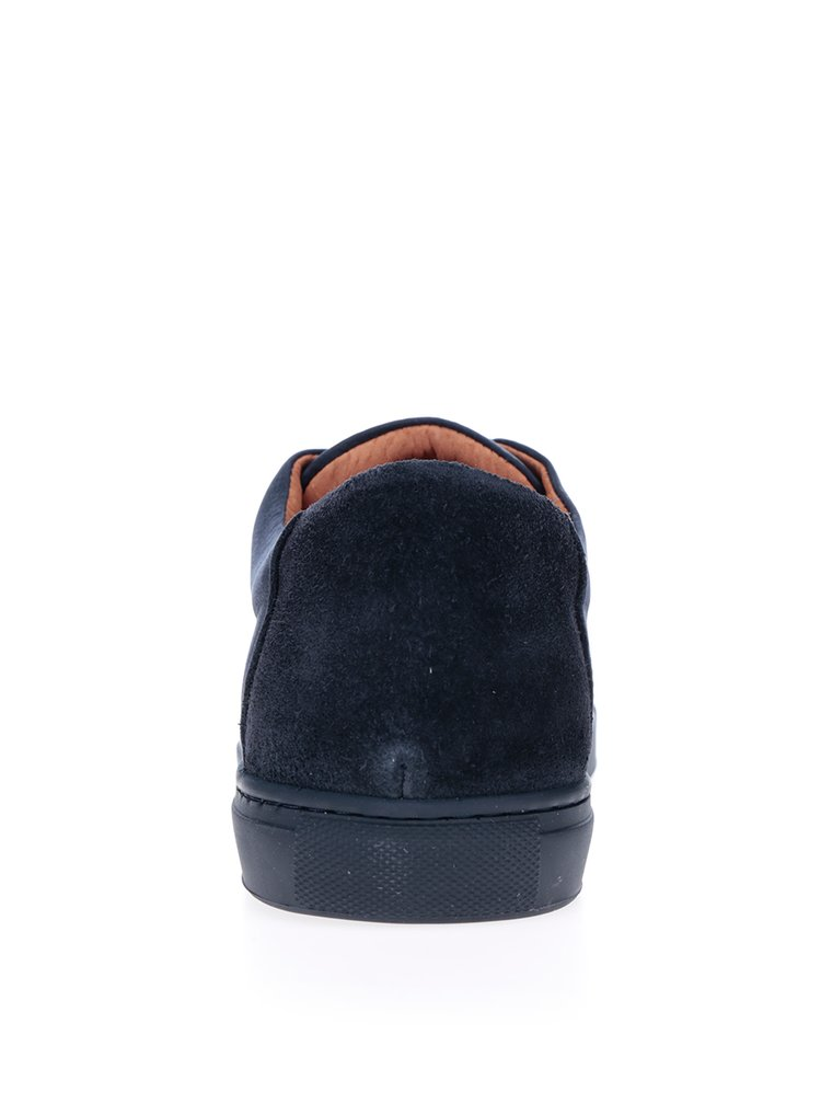 Pantofi sport bleumarin din piele intoarsa Selected Homme David
