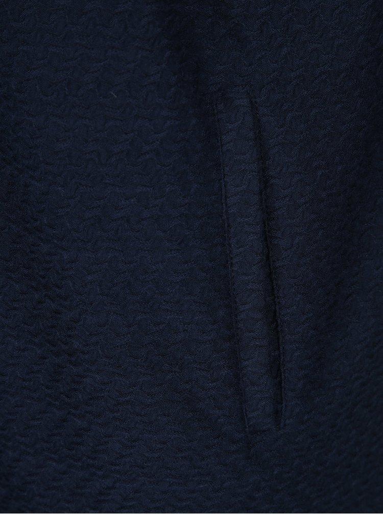 Tmavě modrý lehký kabát VERO MODA Ditte