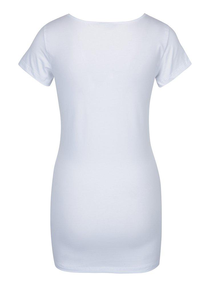 Sada dvou basic triček v černé a bílé barvě VERO MODA Maxi