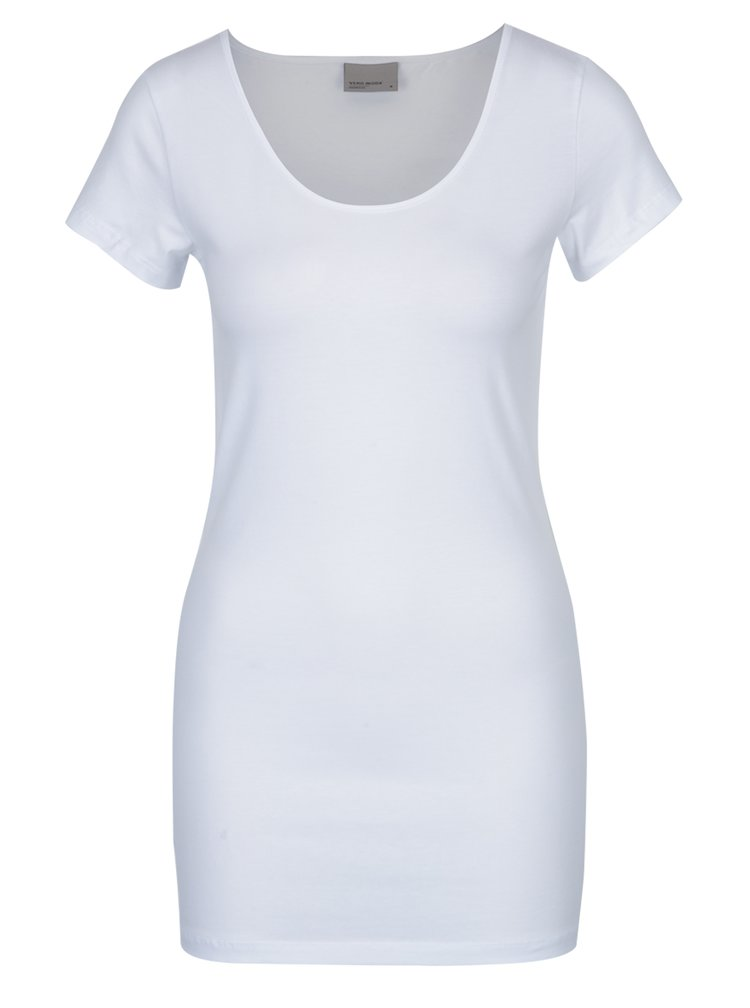 Set de doua tricouri basic alb&negru VERO MODA Maxi