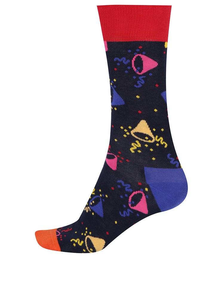 Set cu 3 perechi de șosete cu imprimeu pentru bărbați Happy Socks Birthday