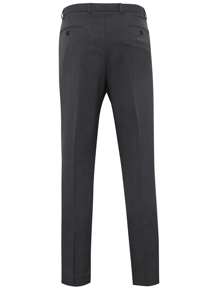 Tmavě šedé formální skinny kalhoty Burton Menswear London