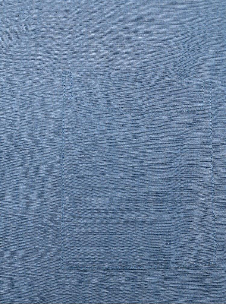 Cămașă tunică albastru deschis - Burton Menswear London