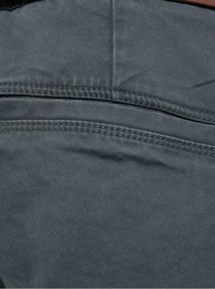 Světle šedé chino kalhoty s páskem ONLY & SONS Tarp