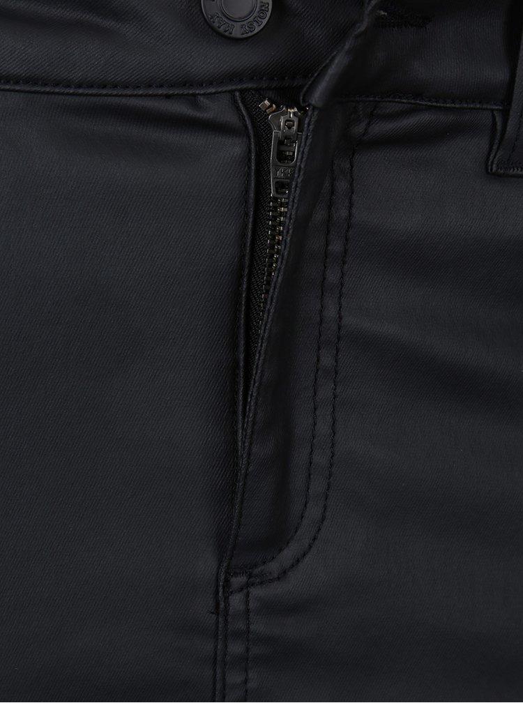 Černá koženková sukně Noisy May Be Lexi