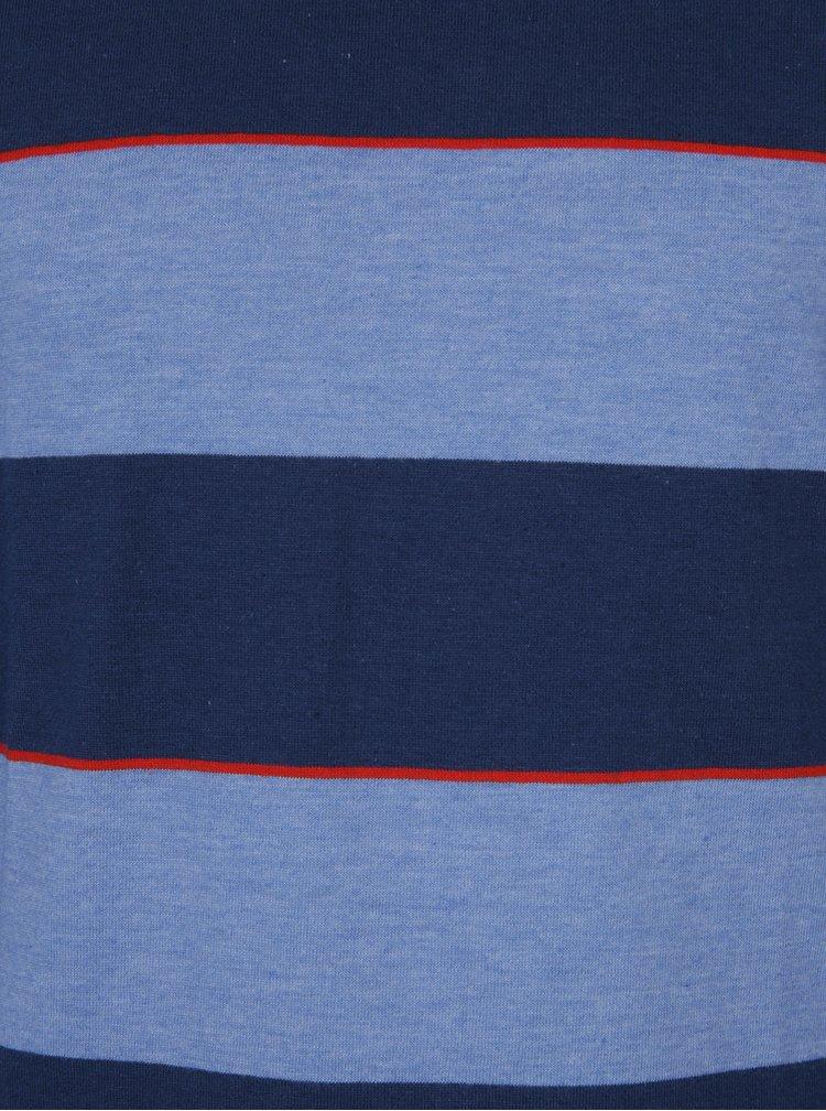 Bluză albastră cu dungi pentru băieți - 5.10.15.