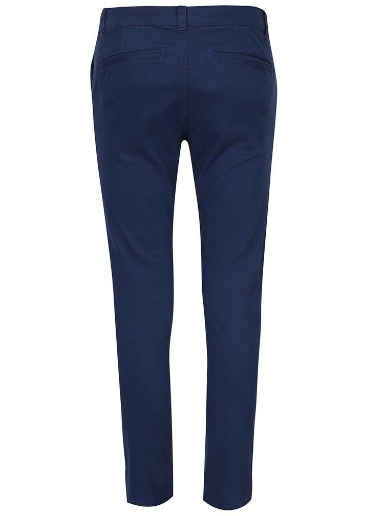 Modré klučičí slim chino kalhoty 5.10.15.