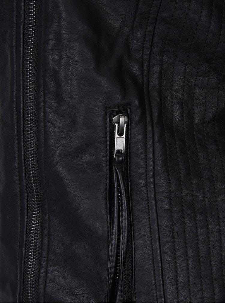 Jachetă biker neagră - VERO MODA Kamma