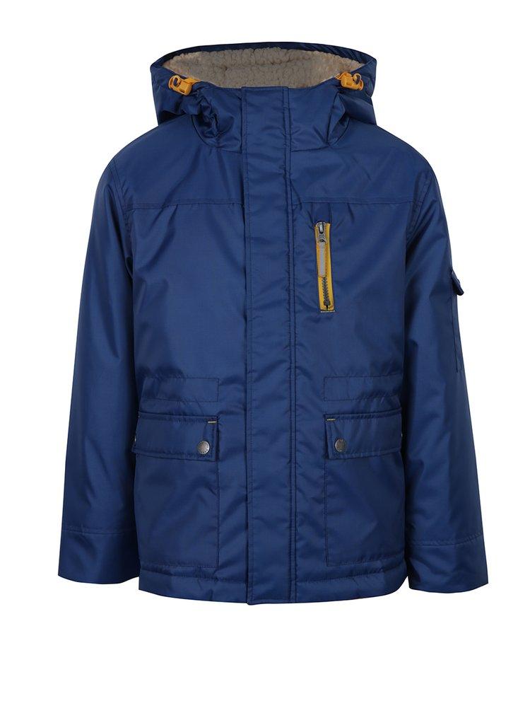 Modrá klučičí bunda s kapucí 5.10.15.