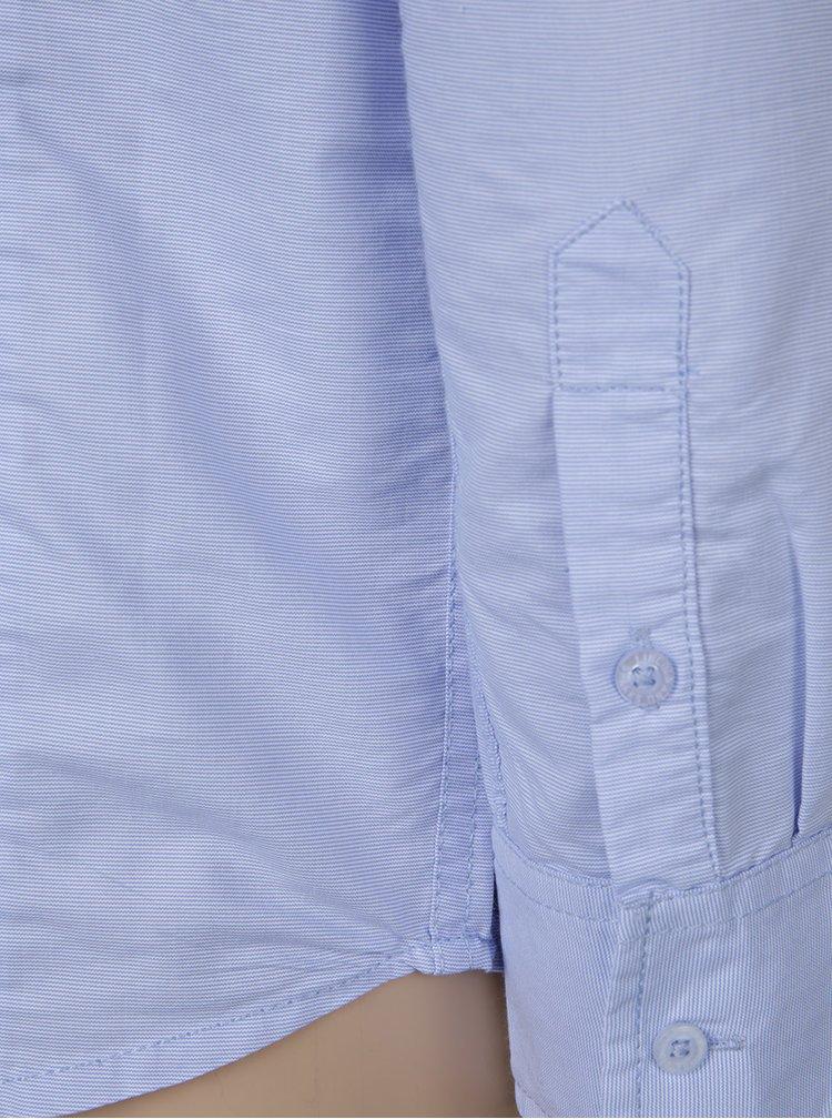 Cămașă bleu cu model discret pentru băieți - 5.10.15.