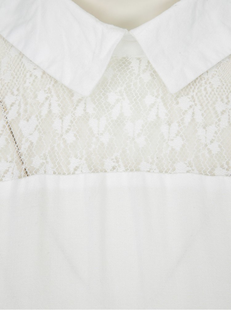 Bluză crem cu dantelă - Jacqueline de Yong Nancy