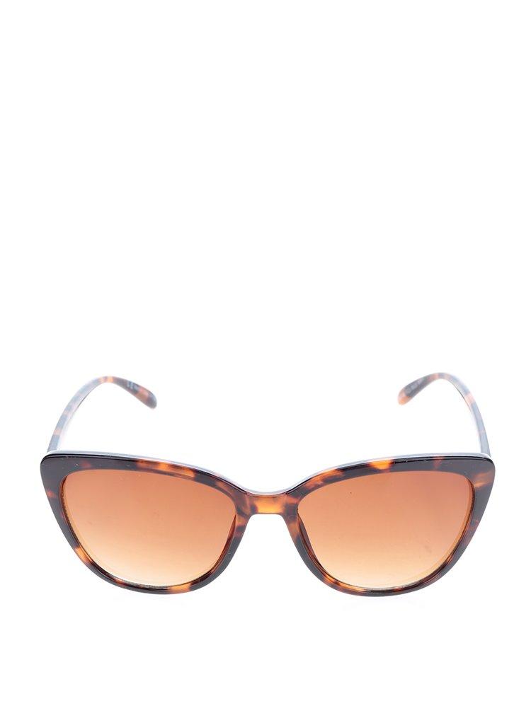 Ochelari maro de soare cu rama animal print Dorothy Perkins