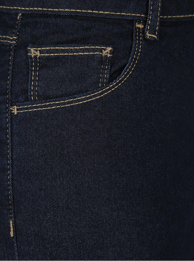 Tmavě modré straight džíny Dorothy Perkins