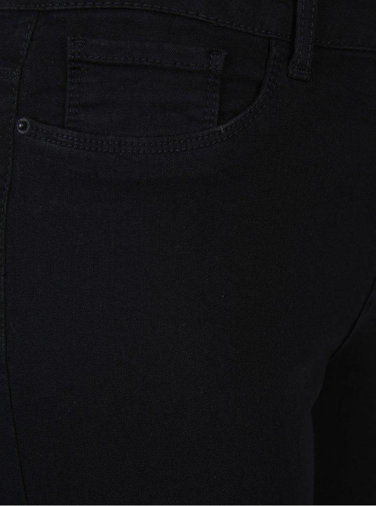 Černé slim džíny VERO MODA Seven