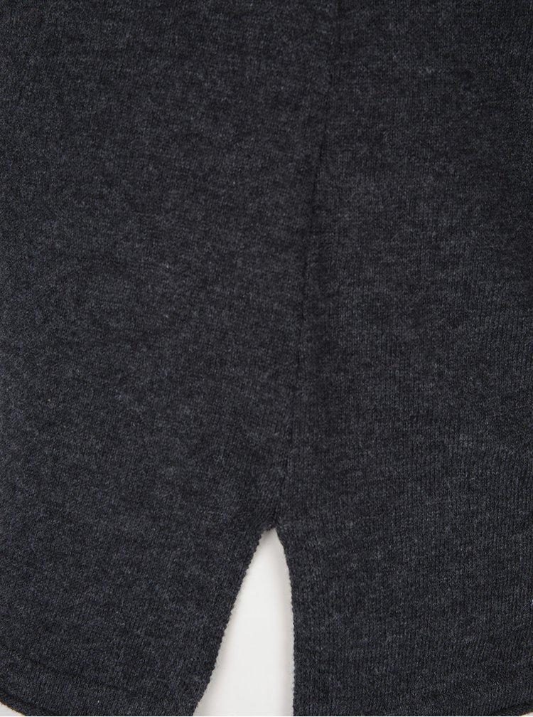 Tmavě šedý svetr VERO MODA Sofia