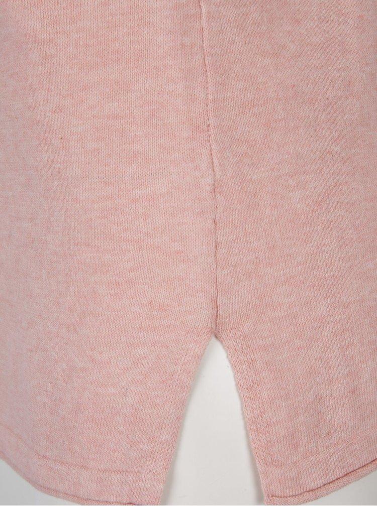 Světle růžový svetr VERO MODA Sofia