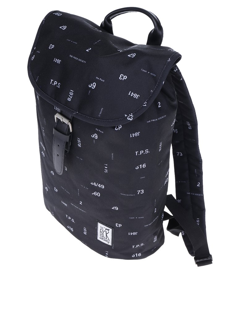 Rucsac bleumarin cu print cifre The Pack Society 10 l