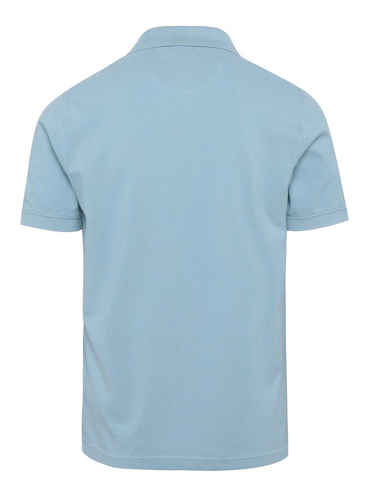 Světle modré pánské polo tričko Sergio Tacchini Polo St