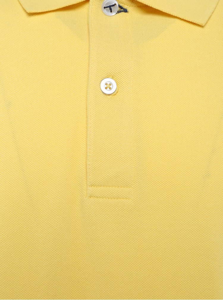 Žluté pánské polo tričko Sergio Tacchini Polo St