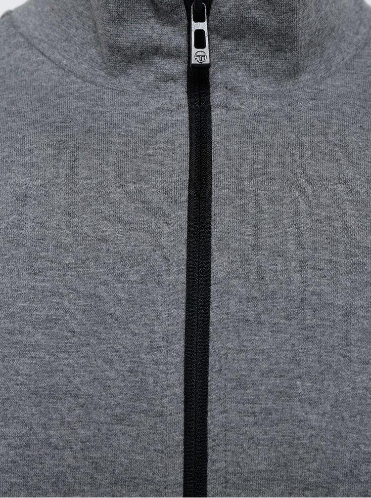 Bluză sport gri pentru bărbați Sergio Tacchini Vettore