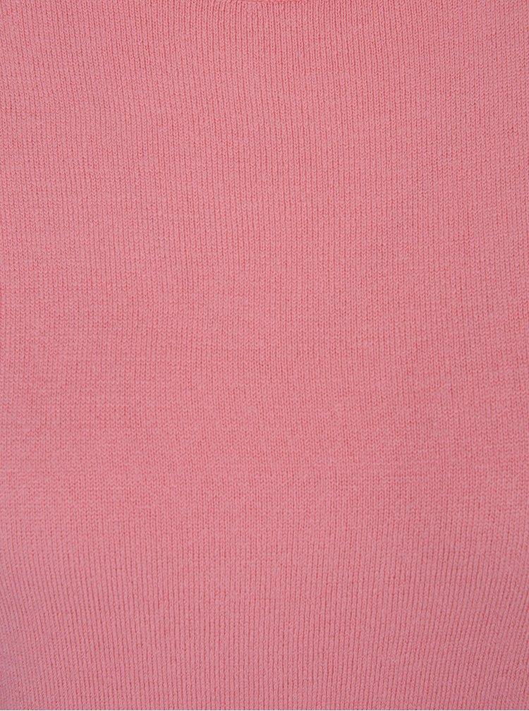 Růžový svetr se zvonovými rukávy Dorothy Perkins