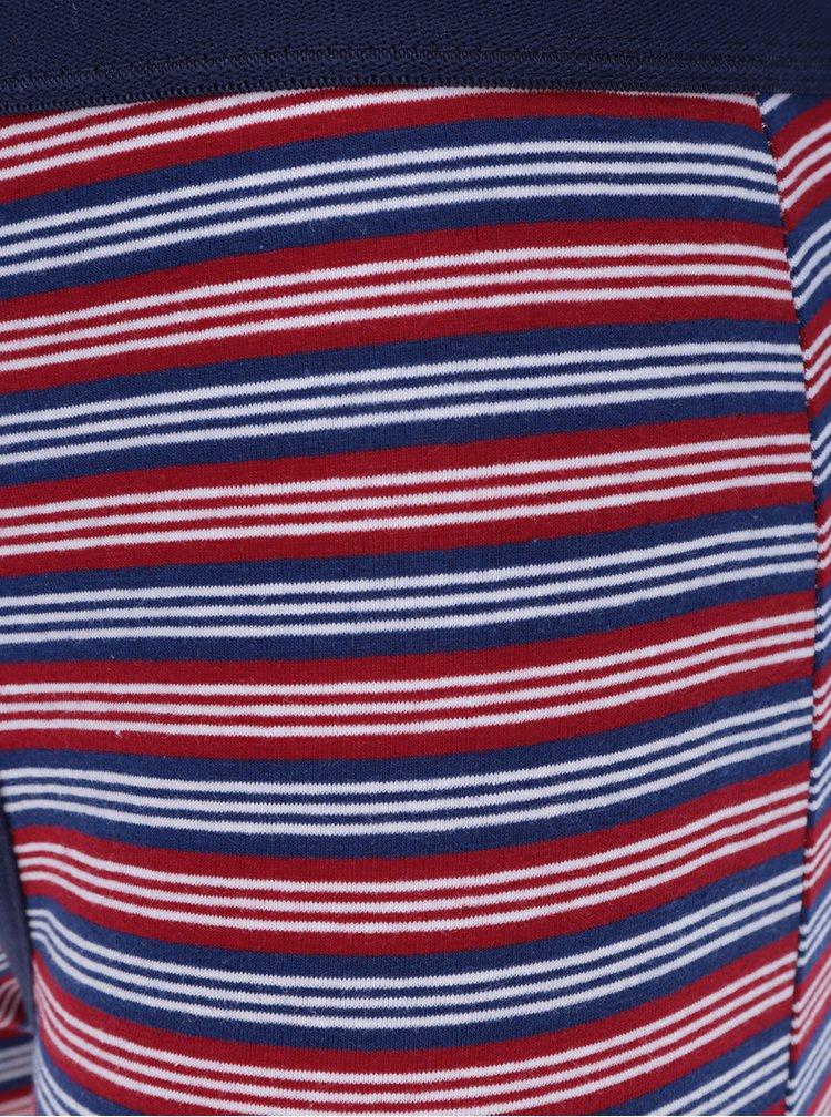 Sada tří boxerek v červené a modré barvě Burton Menswear London