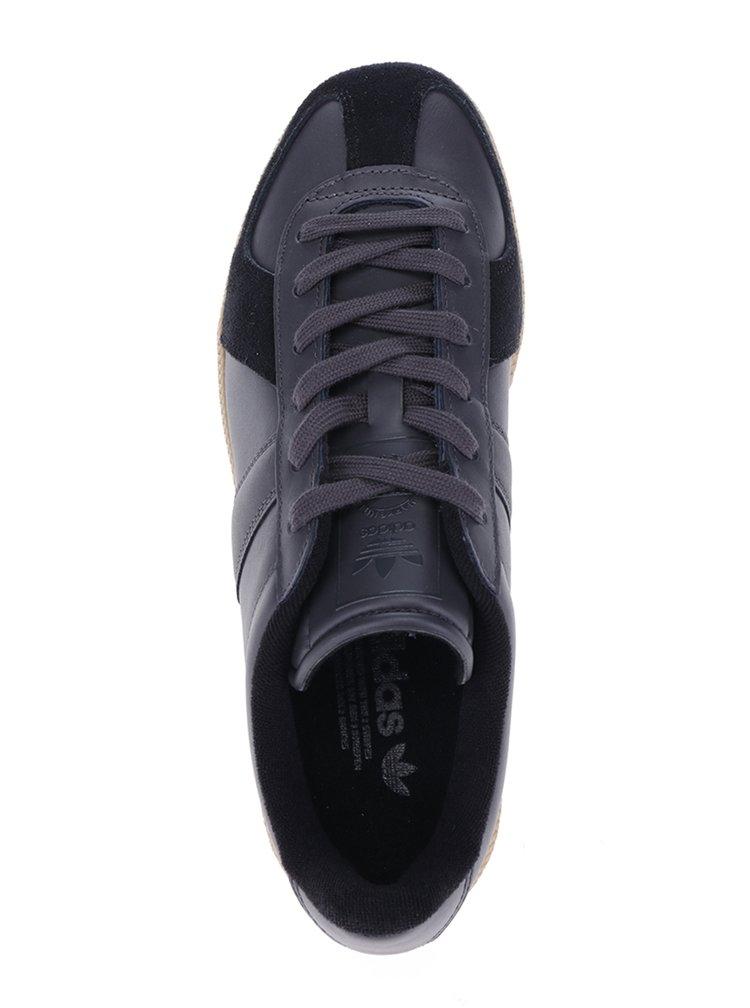 Černé pánské kožené tenisky adidas Originals BW Army