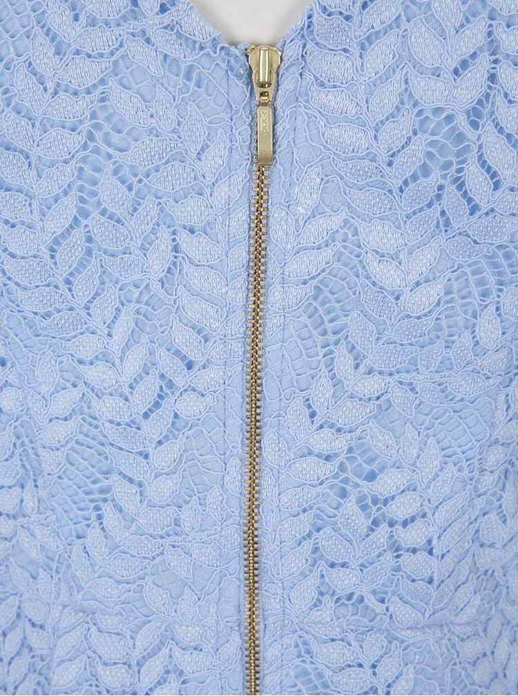 Rochie midi albastră din dantelă Dorothy Perkins
