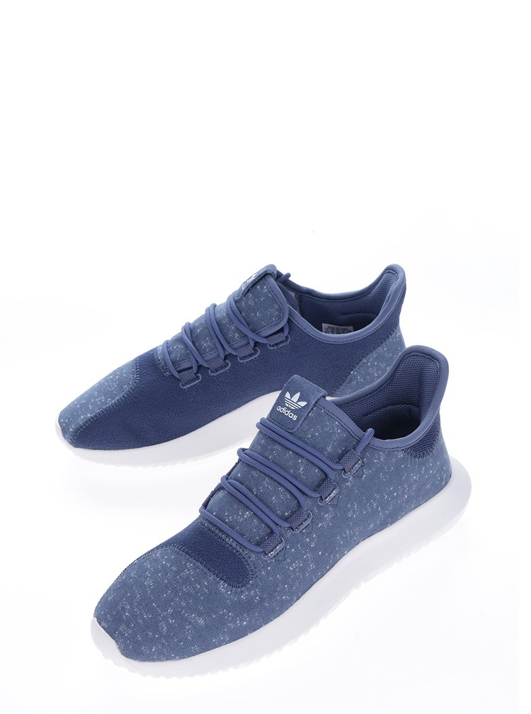 Pantofi sport albastru melanj pentru bărbați - adidas Originals Tubular Shadow